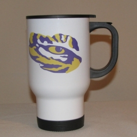 LSU Travel Mug Stainless Steel